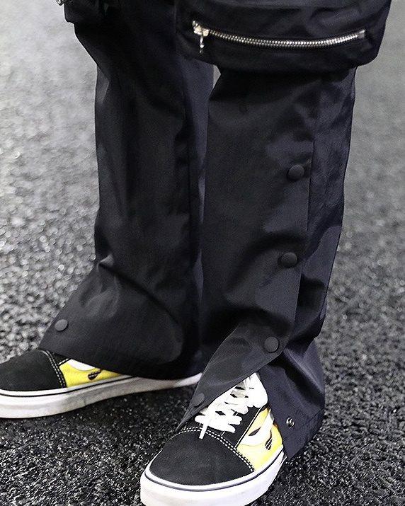 《2色》ビッグポケットサイドスナップカーゴジョガーパンツの画像12